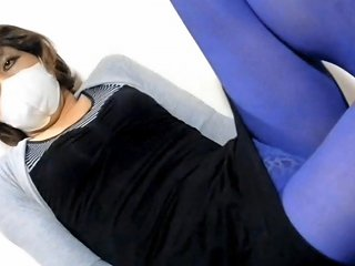 Purple Tights Part1 Free Shemale Amateur Porn Video 44