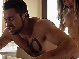 Stepbro Gets His Ass Analed By His Busty Shemale Stepsister
